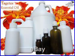 Tagetes (Marigold) Essential Oil. 9 Sizes. 10ml Gallon. Free Shipping