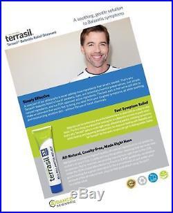Terrasil Balanitis Relief 100% Guaranteed Patented All-natural gentle sooth
