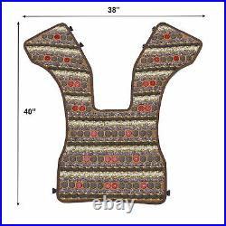 ThermoGem Natural Amethyst Tourmaline Jade Far InfraRed Heating PEMF Photon Vest