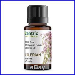 Valerian Essential Oil 15ml. 05 oz 100 % PURE Stress, Anxiety, Insomnia