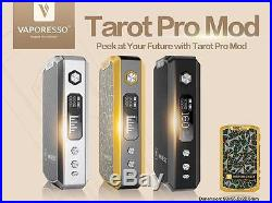Vaporesso TAROT PRO VTC Mod 160W dry herb Vaporizer Box Titan evic 510 thread