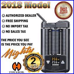 Volcano Mighty Vape S&b 2018 Model + Free Overnight Shipping USA Canada