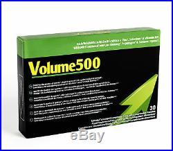 Volume500 zur Ejakulation Spermaerhöhung und Potenz Volume 500 Spermaqualität 3x