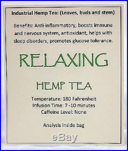 WOW Organic Relaxing Hemp Tea 2Kg