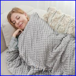 Weighted Blanket Gravity Blankets Sensory Sleep Reduce Anxiety Sofa+Duvet cover