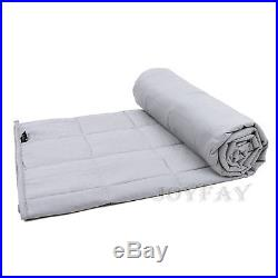 Weighted Blanket for Adults Sensory Blanket 60x80'' 20lb Queen Size U. S. Solid