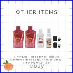 Young Living Aria Diffuser + 12 Essential Oils Starter Kit Bundle + Membership
