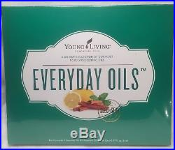 Young Living Essential Everyday Oils Kit, BRAND NEW & SEALED! PRIORITY SHIPPING