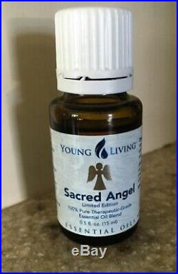 Young Living Essential Oil 15 Ml Sacred Angel Rosewood, Melissa & Rose Limited