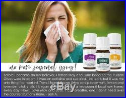 Young Living Essential Oil Premium Starter Kit with Desert Mist Diffuser