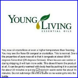 Young Living Essential Oil (Rose 5ml)