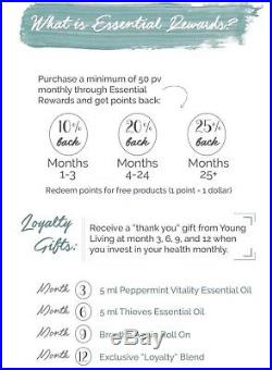 Young Living Essential Oils Premium Starter Kit 2019 with Wholesale Membership
