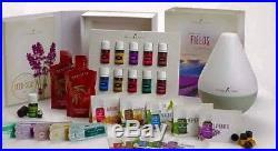 Young Living Essential Oils Premium Starter Kit, Diffuser, Bracelet, Oil & Book