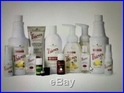 Young Living Essential Oils Thieves Premium Starter Kit Cleaning Soap Spray NEW