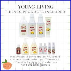 Young Living Essential Oils Thieves Premium Starter Kit Lot Bundle & Membership