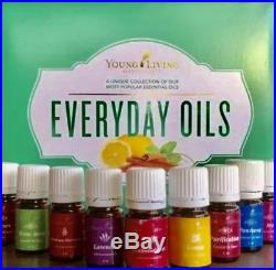Young Living Everyday Essential Oils Kit, NEW & SEALED