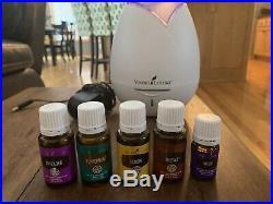 Young Living Peppermint/Valor/Lemon/Thieves/Lavender Oils/diffuser