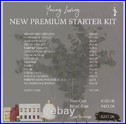 Young Living Premium Starter Kit with Desert Mist Diffuser