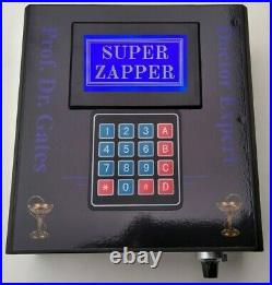 ZAPPER PROFESSIONAL- Hulda Clark by Professor Gates semiautomatic