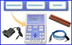 Zapper Hulda Clark Zapper profesional + Generador + 25 Programas, todo en uno