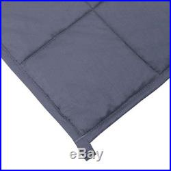 ZonLi Cool Weighted Blanket (60''x80'', 20lbs for 170-230lb individual, Grey)