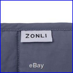 ZonLi Weighted Blanket (60''x80'', 20lbs for 170-230lb Individual, Grey) for Adu