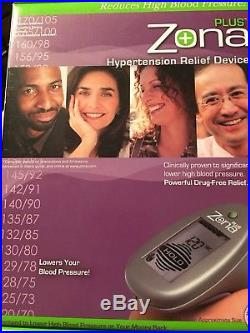Zona Plus Hypertension Relief Device Clinically Proven Lower Blood Pres