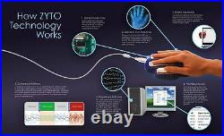 Zyto Select 5.0 Software And 2 Hand Cradles